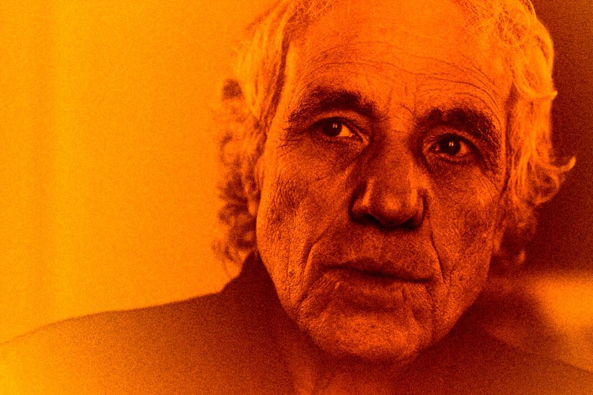 Abel Ferrara stares with focus