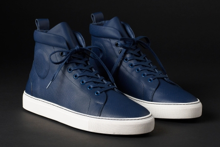 Aether Apparel Dalton Sneaker in navy