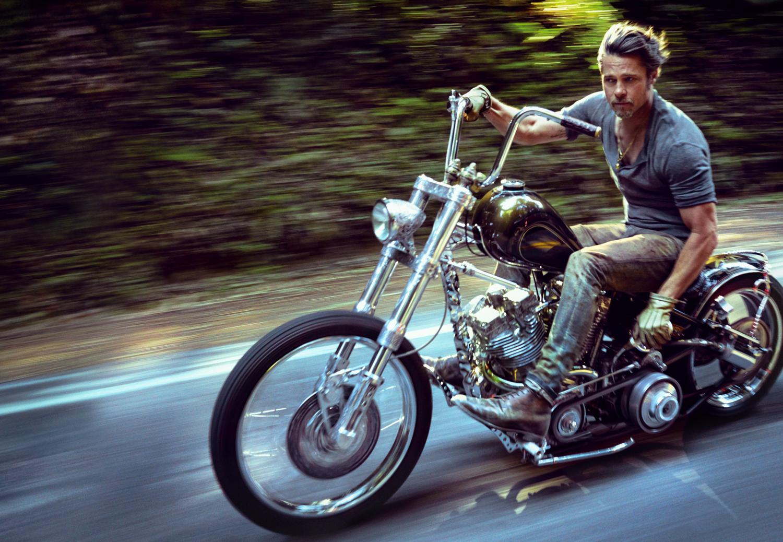 Brad Pitt, Humboldt, CA, 2014 photograph by Mark Seliger