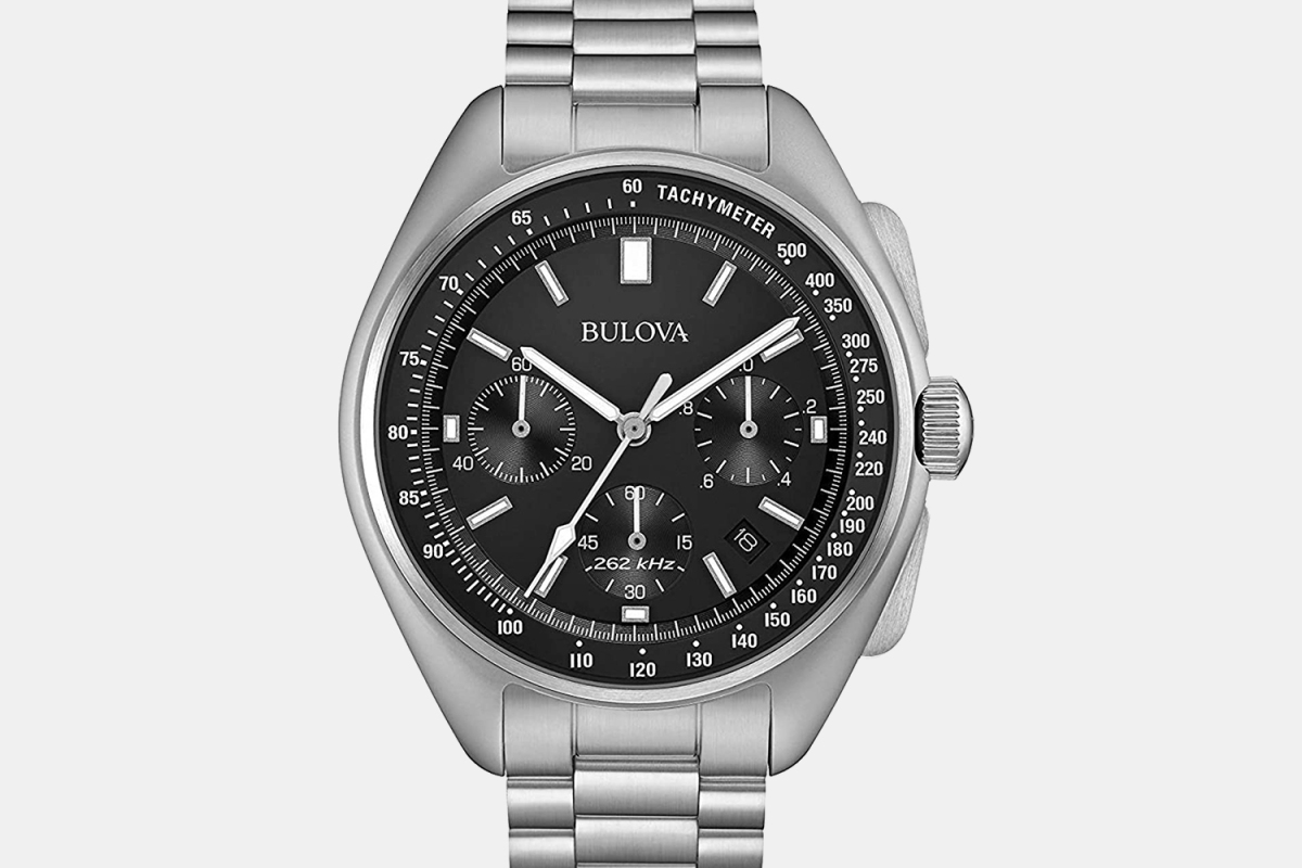 Bulova Lunar Pilot chronograph moon watch