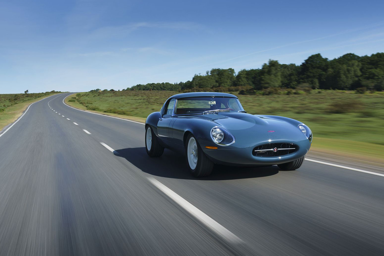 The new Eagle Lightweight GT Jaguar E-Type restomod car