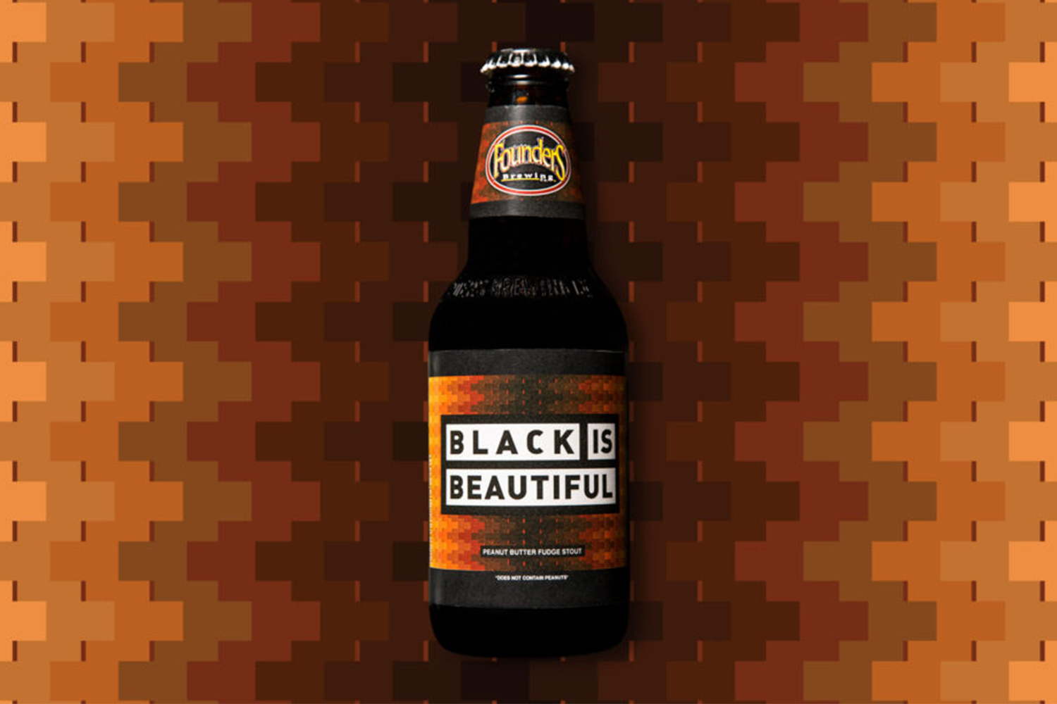 Founders Black Is Beautiful peanut butter fudge stout