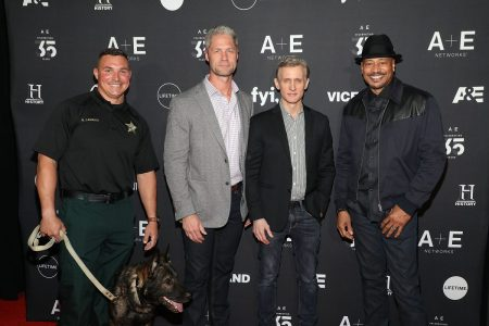 Four members of the A&E police show Live PD
