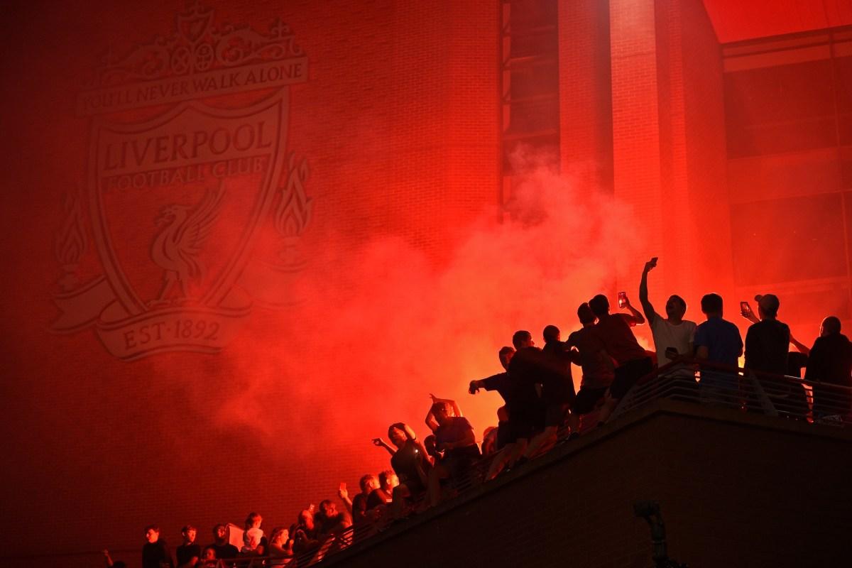 Liverpool title celebrations
