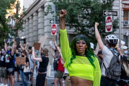 mila jam blm protest stonewall