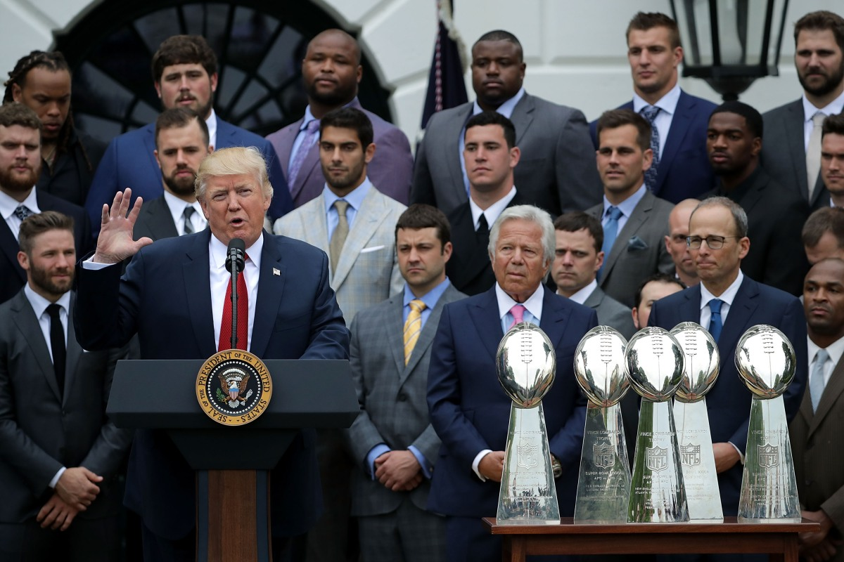 Trump NFL Kneeling