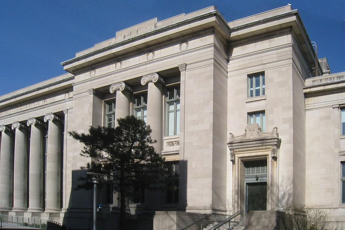 Langdell Hall at Harvard University