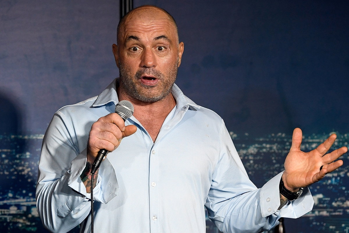 Joe Rogan at The Ice House Comedy Club in Pasadena in 2019