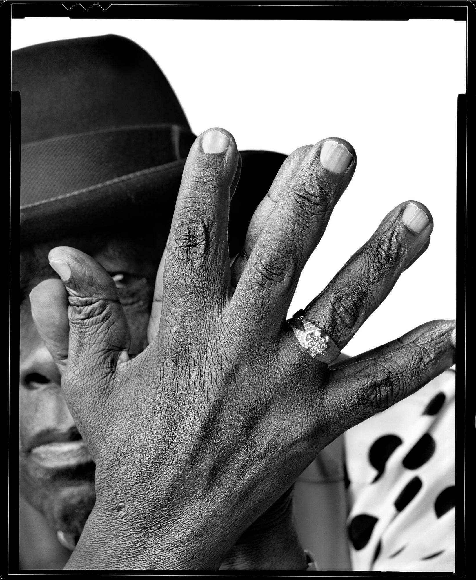 John Lee Hooker, Vallejo, CA, 1990 photograph by Mark Seliger