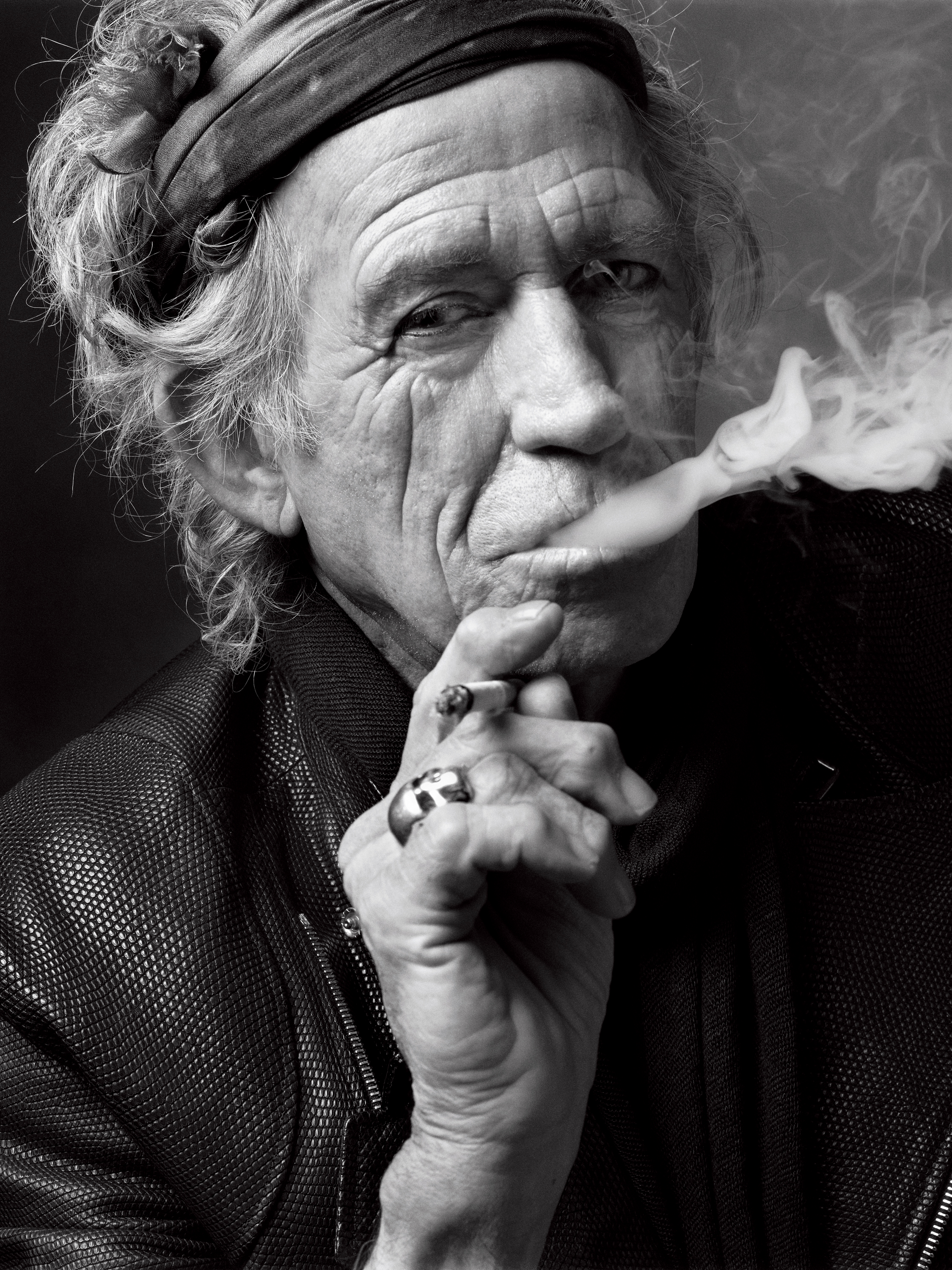 Keith Richards, New York, NY, 2011 photograph by Mark Seliger