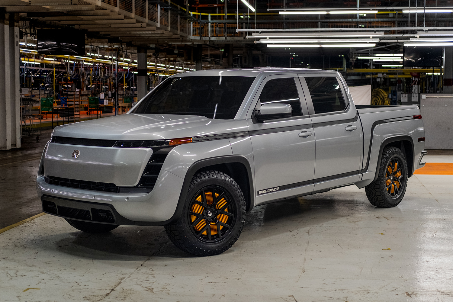 2021 Lordstown Endurance electric pickup truck