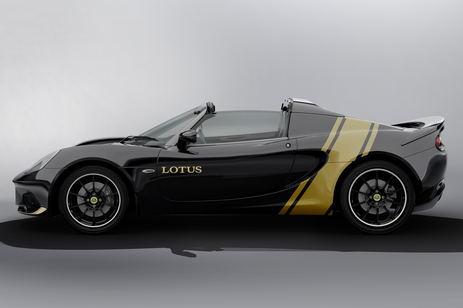 Lotus Elise Classic Heritage Editions black and gold
