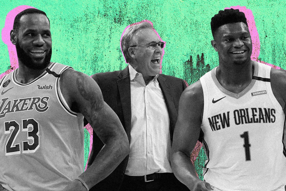 LeBron James, Mike D'Antoni, and Zion Williamson are three of the most interesting figures in the NBA.