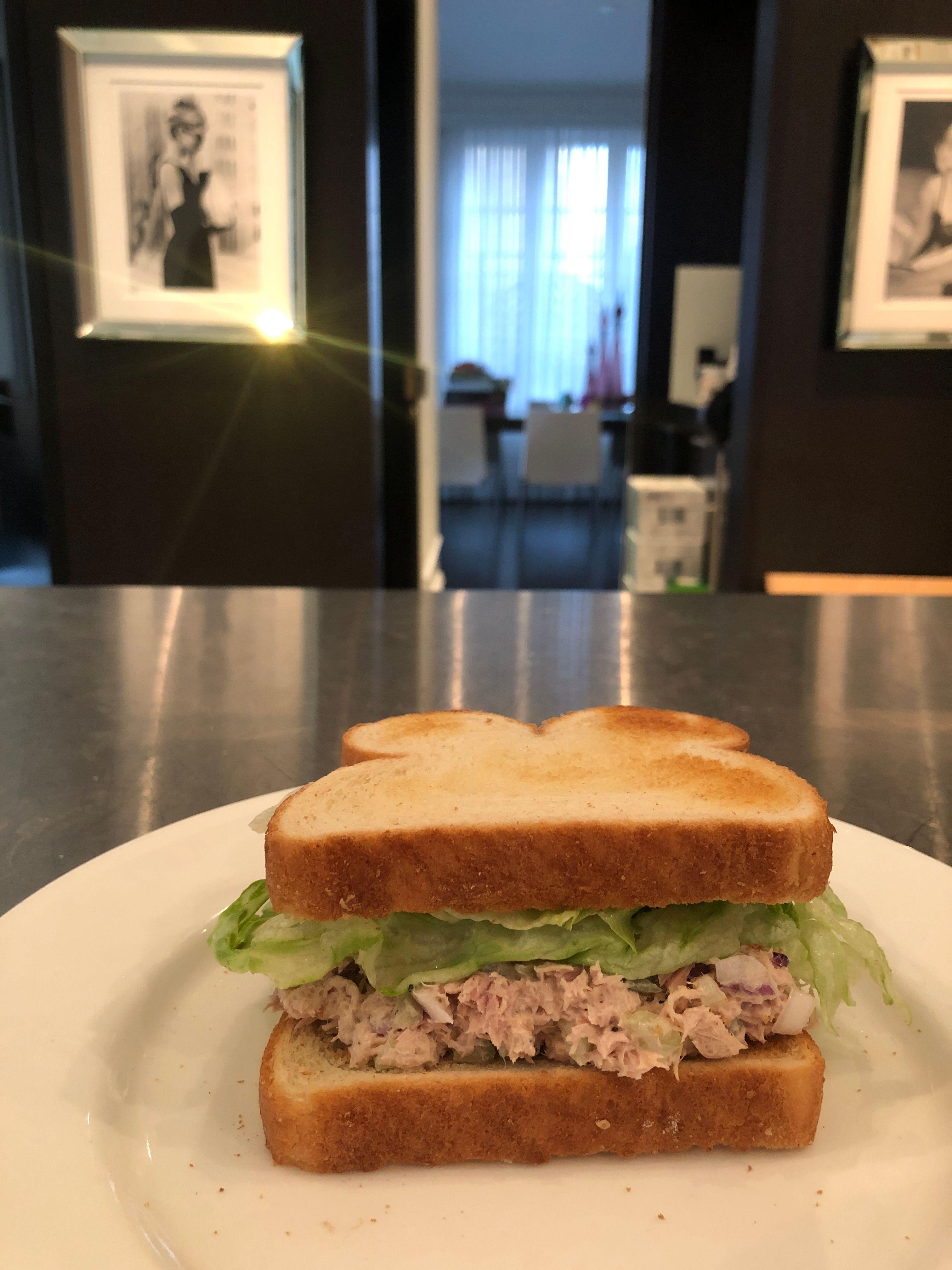 Bourdain tuna sandwich