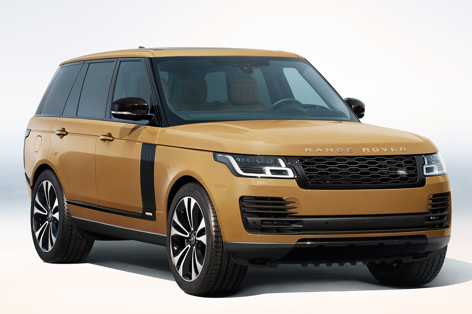 Range Rover Fifty SUV in Bahama Gold