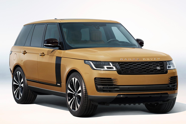 Range Rover Fifty SUV in Bahama Gold