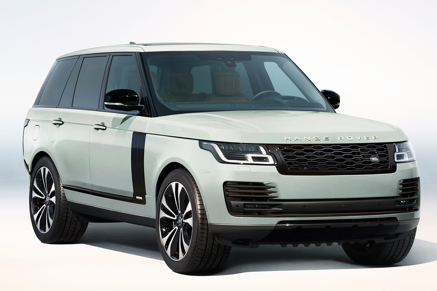 Range Rover Fifty SUV in Davos White