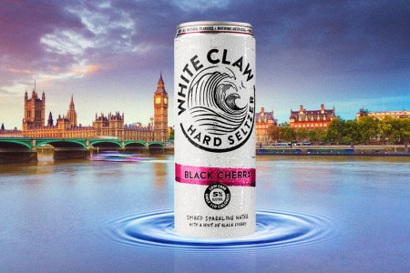 White Claw is trying to take over the English alcohol scene too.