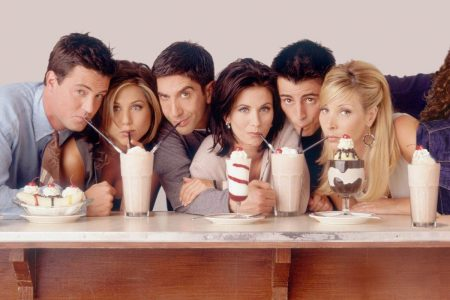 """The cast of """"Friends."""""""