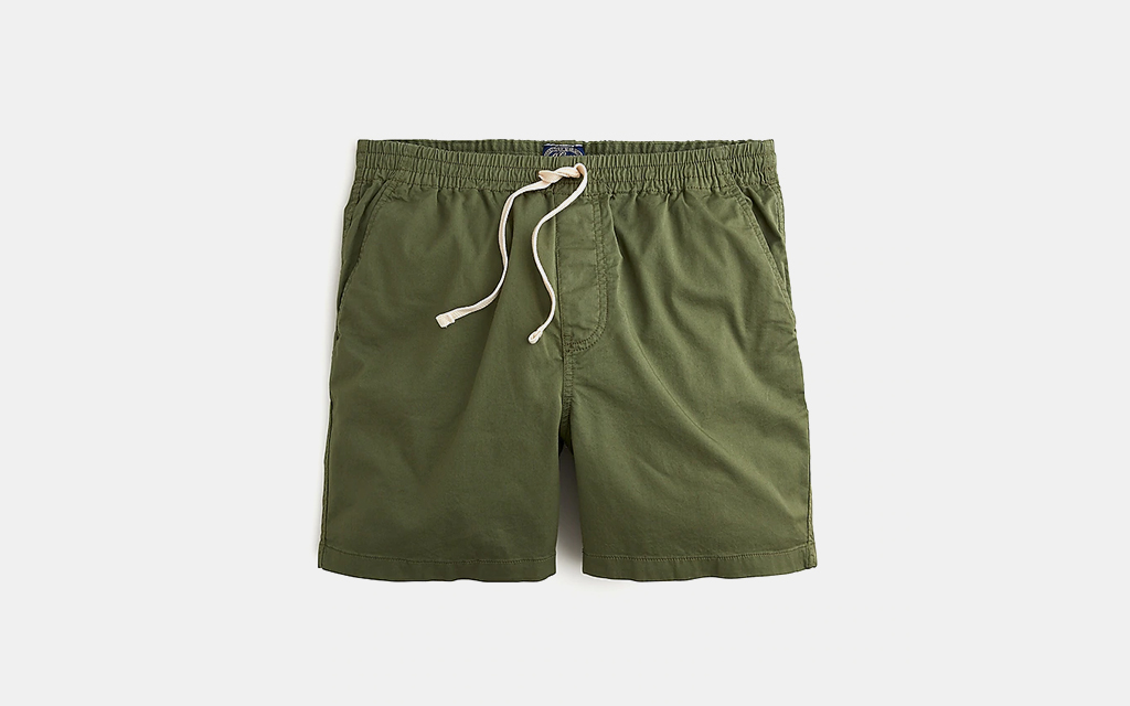 J.Crew Dock Short in Stretch Chino Shorts
