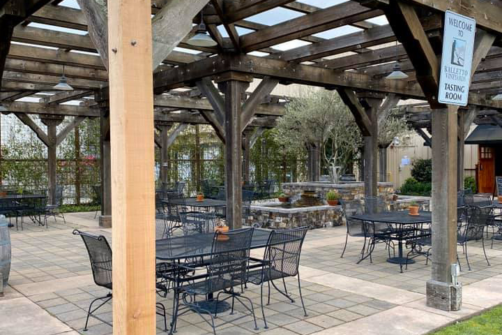 balletto vineyards patio