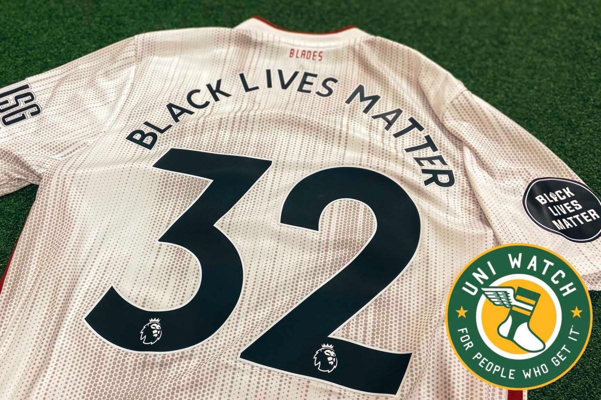 uni watch black lives matter sheffield united
