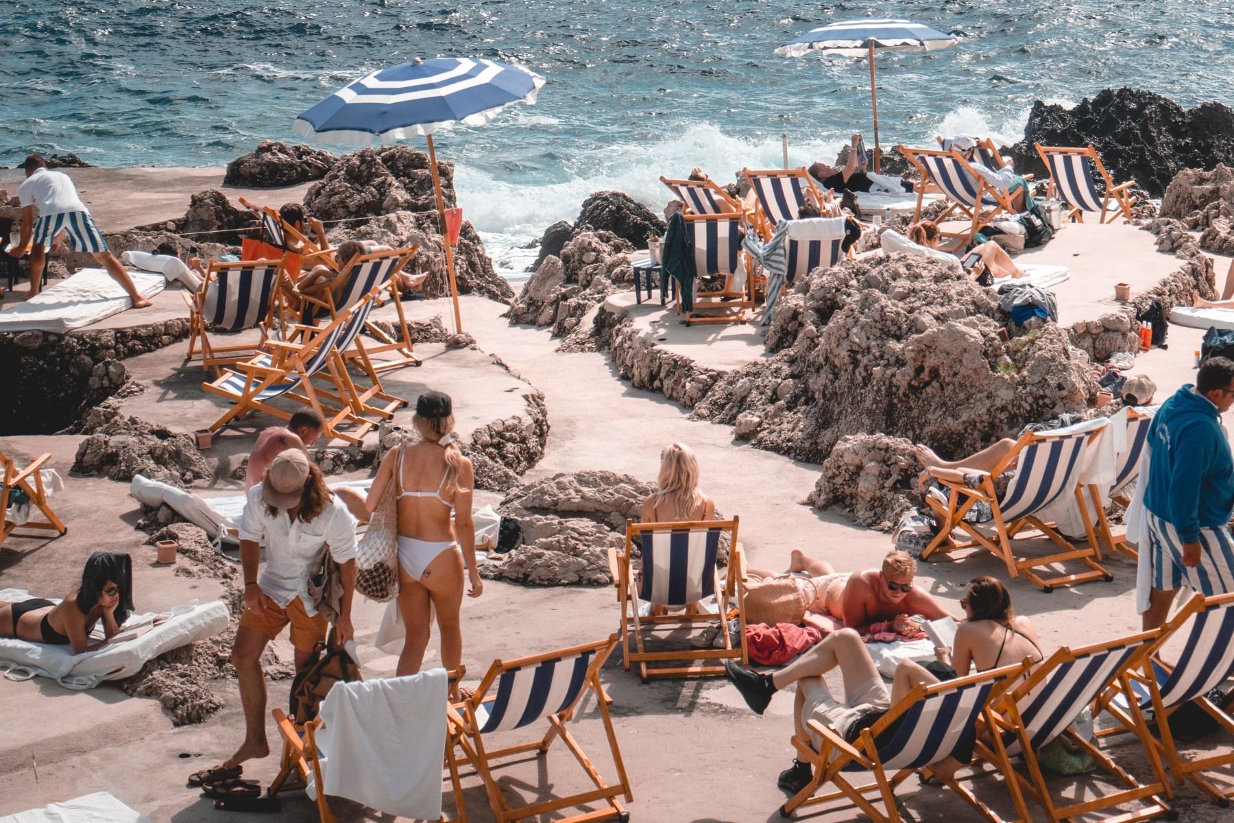 capri italy beach