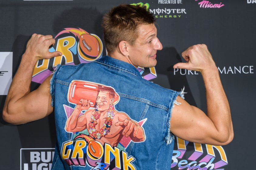 """Rob Gronkowski Is a """"F*cking Clown"""" Says Top WWE Wrestler"""