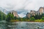 Yosemite Valley in California