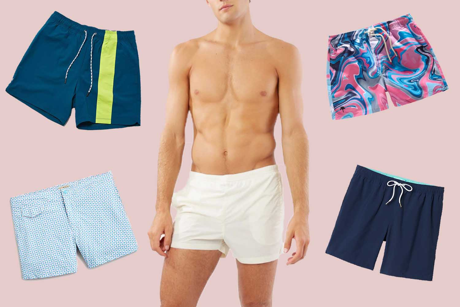 Take It From a Woman: Your Swim Shorts Need to Be Shorter