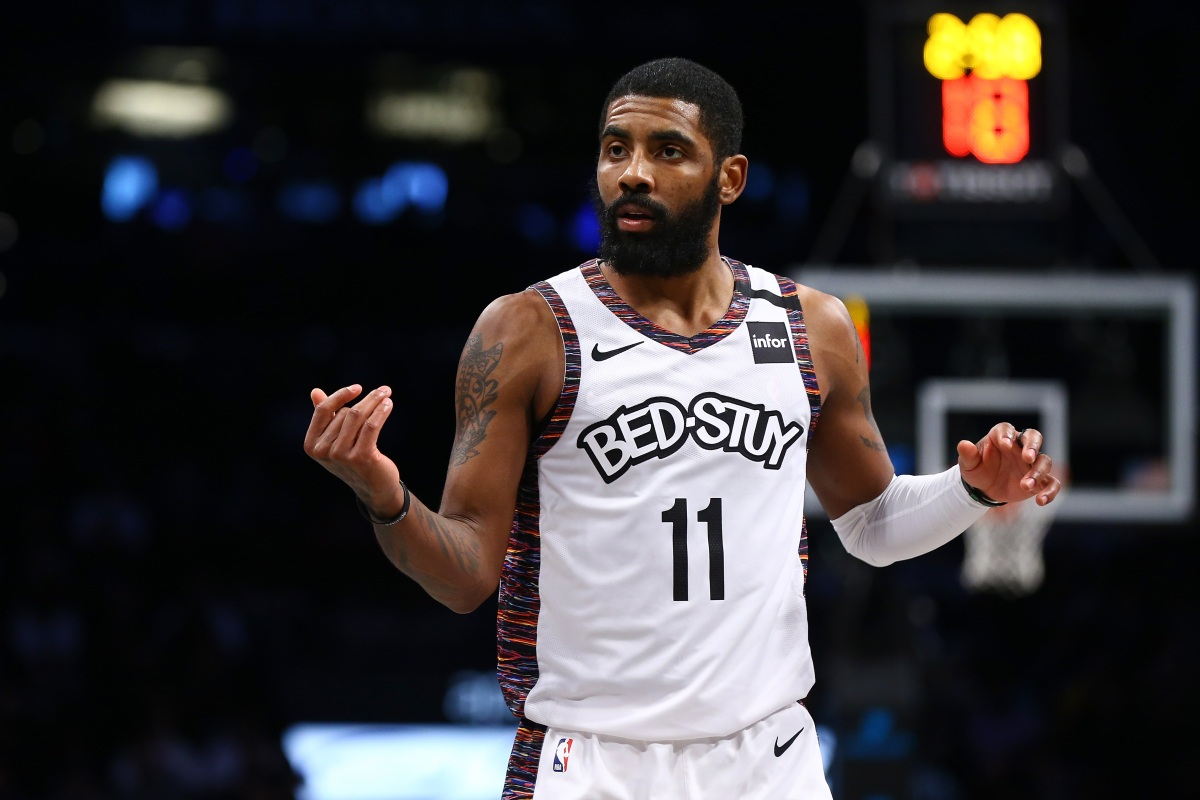 Report: Kyrie Irving Proposed NBA Players Starting New League
