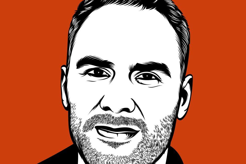 An illustration of Nick Firchau. (Paternal Podcast)