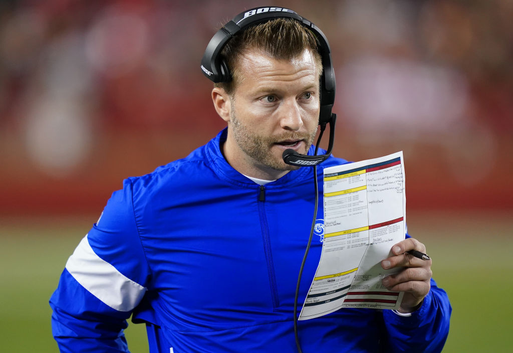 La Rams Coach Sean Mcvay Will Support On Field Protests Insidehook