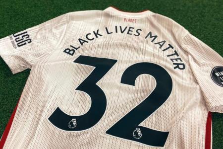 Sheffield United Black Lives Matter jersey