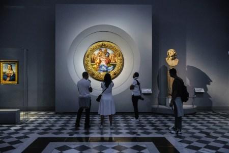 The Uffizi Gallery in Italy
