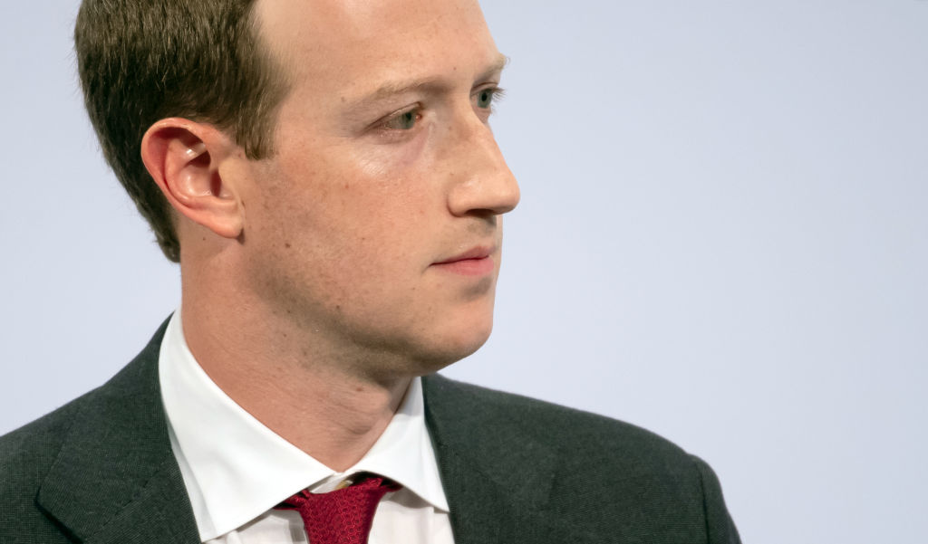 Mark Zuckerberg speaks at the 56th Munich Security Conference. (Sven Hoppe/via Getty)