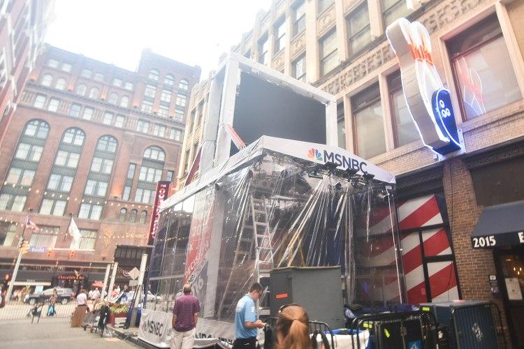 MSNBC at the 2016 RNC