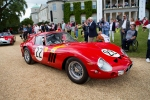A Ferrari 250 GTO at the 70th anniversary celebration at Goodwood House in England