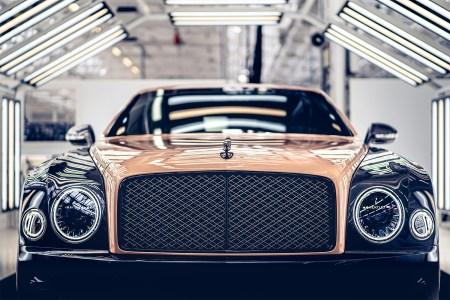 One of the last Bentley Mulsanne luxury sedans