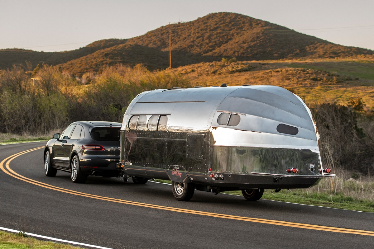 Bowlus Road Chief Endless Highways Performance Edition luxury aluminum travel trailer