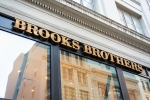 Brooks Brothers logo over a store in San Francisco, California