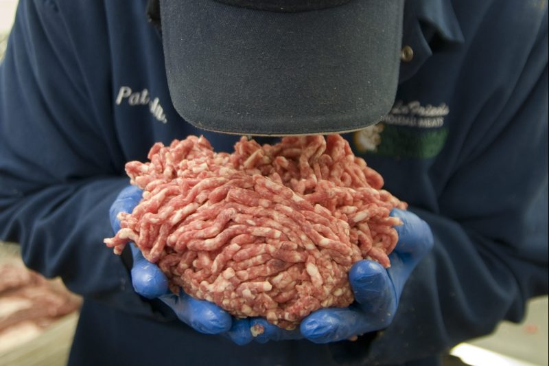 Pat LaFrieda says he got exposed to the idea of chopping beef at birth.