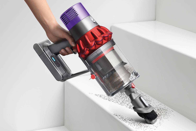 Dyson V10 Animal Pro vacuum cleaner in handheld mode