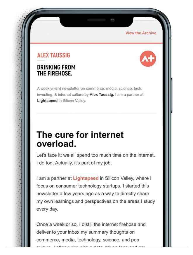 drinking firehose newsletter