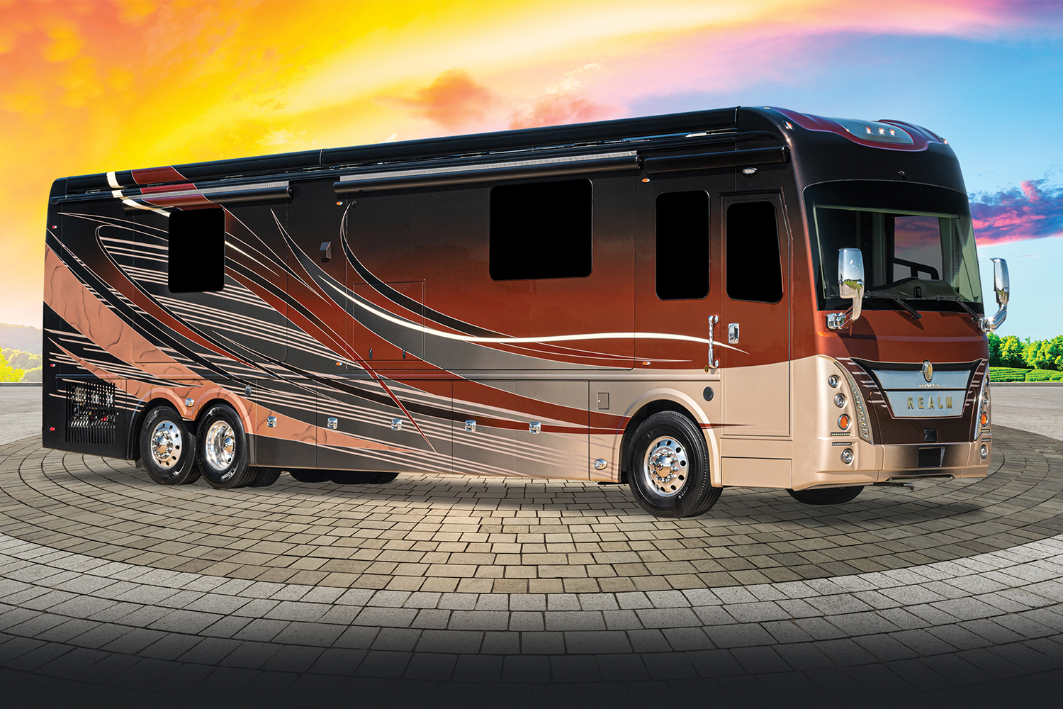 Foretravel Realm FS6 Presidential edition motorhome