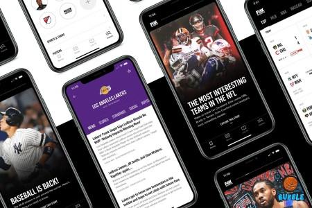 The new Fox Sports app