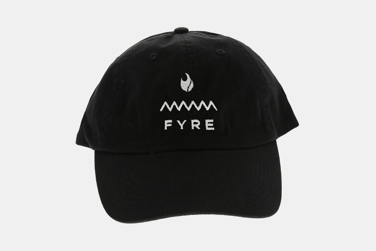 Fyre Festival hat up for auction