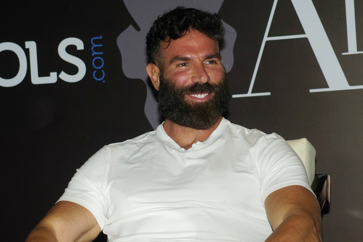 Like his sunburned leathery face, Dan Bilzerian's company is in the red.