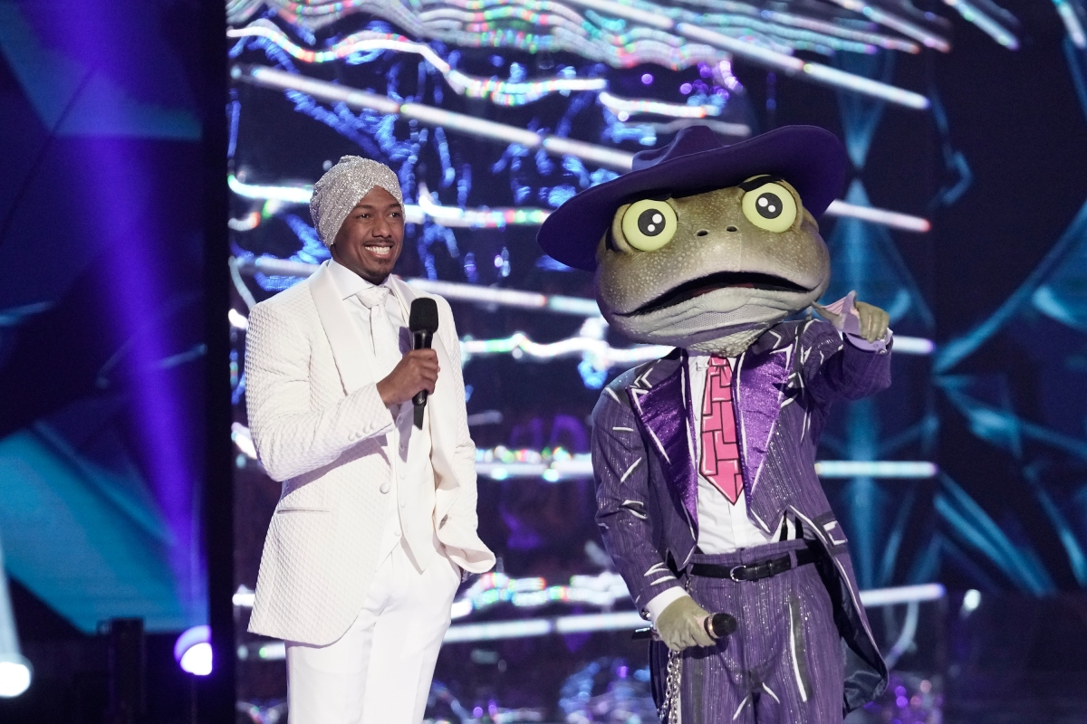 Nick Cannon on Fox's TV show The Masked Singer