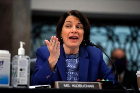 United States Senator Amy Klobuchar of Minnesota